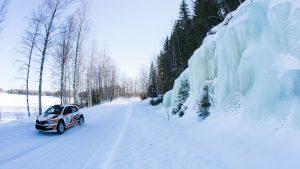 Kees Burger / Mikko Lukka, ŠKODA FABIA R5, Jan Dohmen Rally Team. Tahko SM Ralli 2017