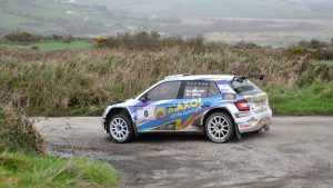 Joseph McGonigle / Ciaran Geaney, ŠKODA FABIA R5, McGeehan Motorsport. West Cork International Rally 2017