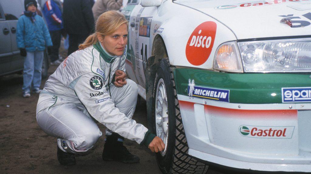 Christina Thörner, ŠKODA OCTAVIA WRC, ŠKODA Motorsport. Rally Argentina 2002