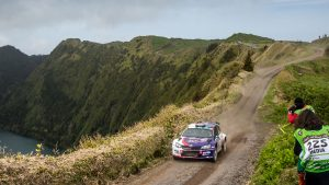 Jan Černý / Petr Černohorský jun., ŠKODA FABIA R5, ACCR Czech Team. Azores Rallye 2017