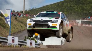 Marijan Griebel / Stefan Kopczyk, ŠKODA FABIA R5, BRR Baumschlager Rallye & Racing. Azores Rallye 2017