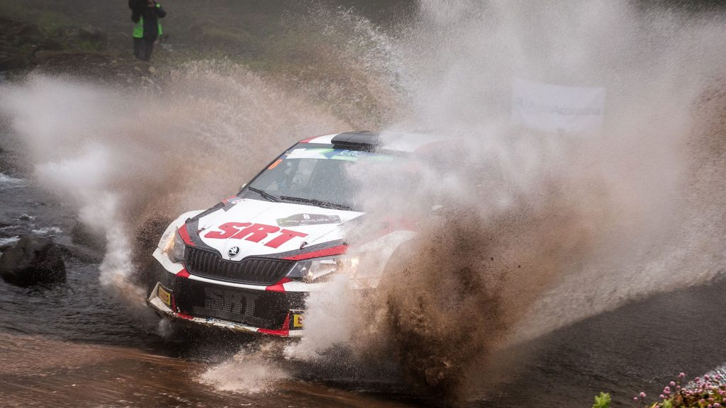 Nikolay Gryazin / Yaroslav Fedorov, ŠKODA FABIA R5, Sports Racing Technologies. Azores Rallye 2017