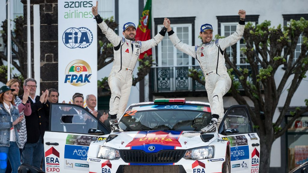 Bruno Magalhães / Hugo Magalhães, ŠKODA FABIA R5. Azores Rallye 2017