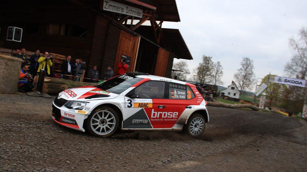 Dominik Dinkel / Christina Kohl, ŠKODA FABIA R5, Brose Motorsport. Hessen Rallye Vogelsberg 2017