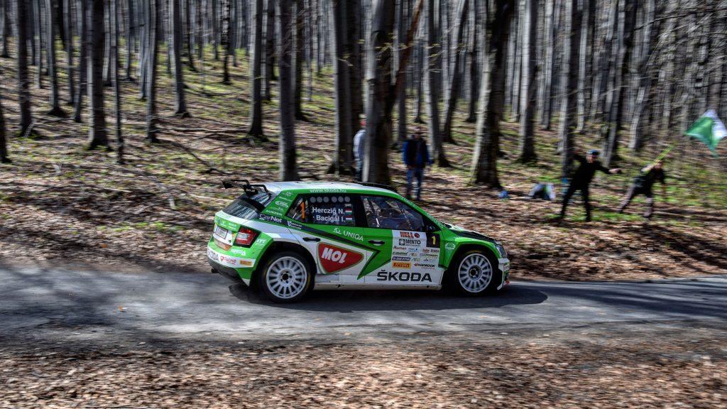 Norbert Herczig / Igor Bacigál, ŠKODA FABIA R5, Škoda Rally Team Hungaria. Miskolc Rallye 2017 (Photo: Krisz Végh)