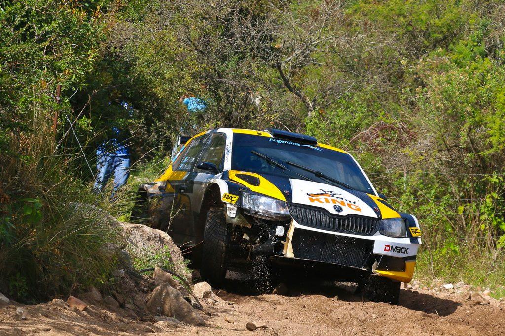 Juan Carlos Alonso / Matias Mercadal, ŠKODA FABIA R5, SABA Competition. Pre-event test Rally Argentina 2017