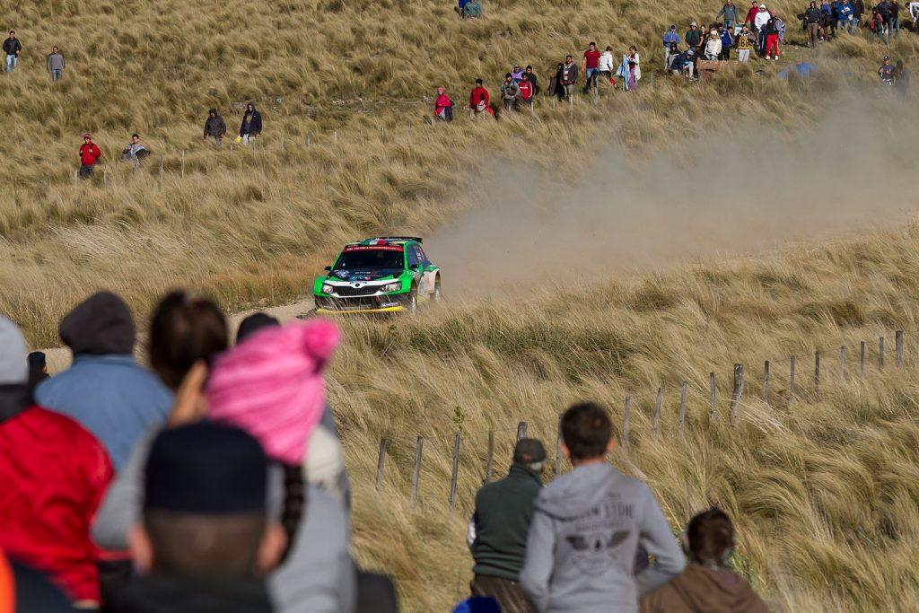 Benito Guerra jr. / Daniel Cué, ŠKODA FABIA R5, Motorsport Italia. Rally Argentina 2017