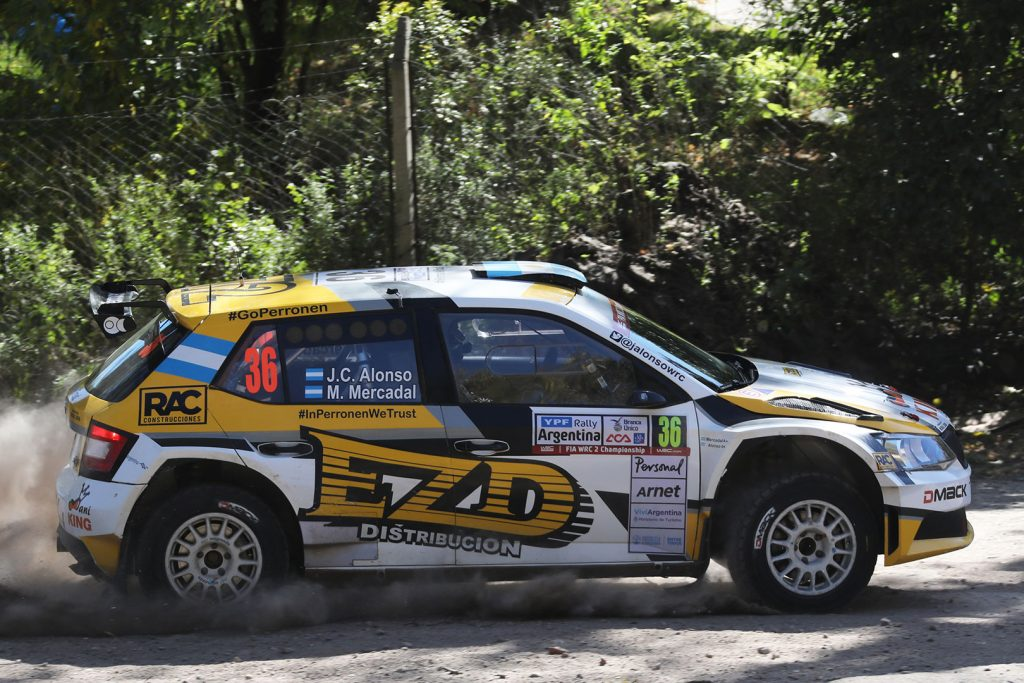 Juan Carlos Alonso / Matias Mercadal, ŠKODA FABIA R5, SABA Competition. Rally Argentina 2017