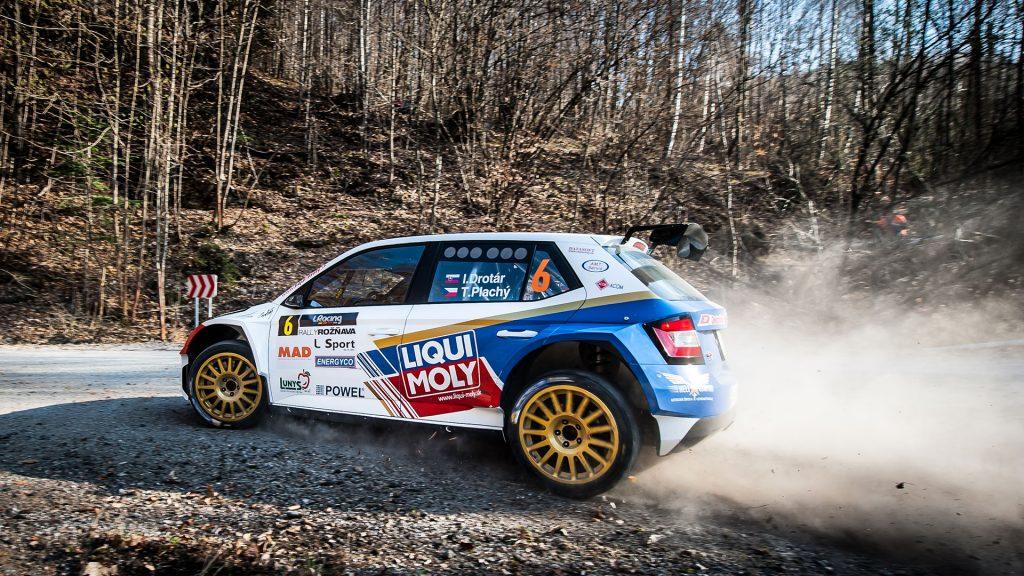 Igor Drotár / Tomáš Plachý, ŠKODA FABIA R5, Drotár Autošport. Rally Rožňava 2017