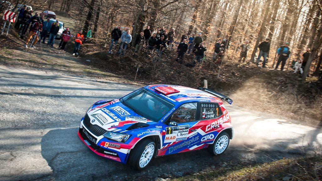 Grzegorz Grzyb / Jakub Wróbel, ŠKODA FABIA R5, Rufa Sport. Rally Rožňava 2017