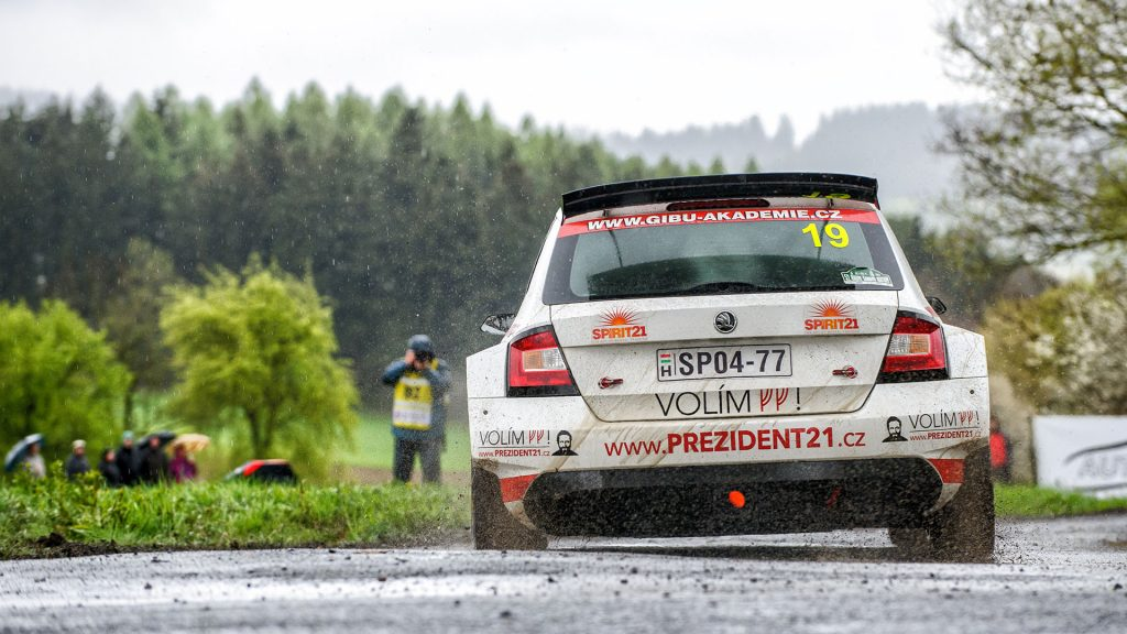 Daniel Landa / Pavel Zalabák, ŠKODA FABIA R5, Spirit Racing. Rallye Šumava Klatovy 2017