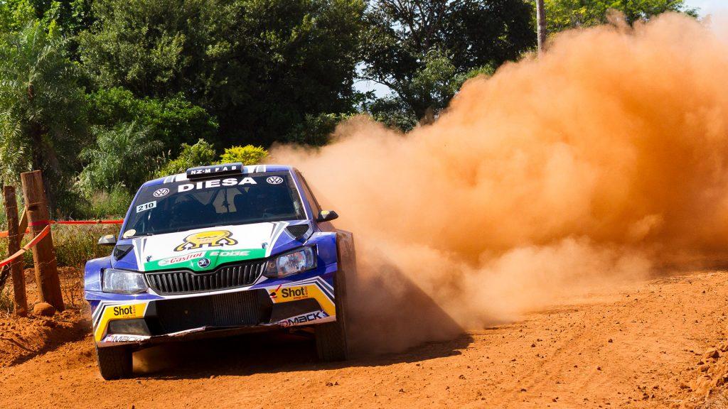 Miguel 'Miki' Zaldivar / Edgaro Galindo, ŠKODA FABIA R5. Rally Trans Itapúa 2017