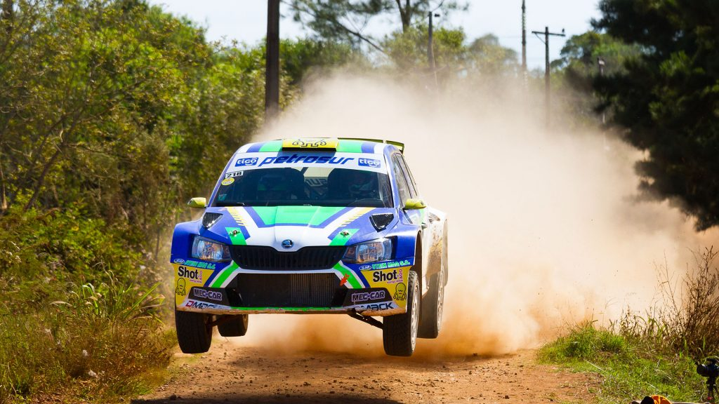 Tiago Weiler / Diego Cagnotti, ŠKODA FABIA R5. Rally Trans Itapúa 2017