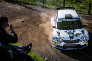Vincent Dubert / Alexandre Coria, ŠKODA FABIA R5, Team FJ. Rallye Lyon-Charbonnières - Rhône 2017