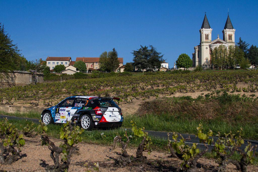 Quentin Giordano / Antoine Paque, ŠKODA FABIA R5, Sébastien Loeb Racing. Rallye Lyon-Charbonnières – Rhône 2017