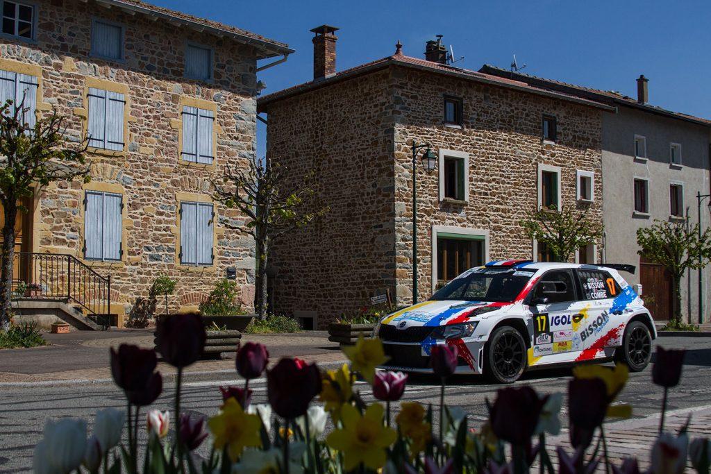 Loïc Bisson / Geoffrey Combe, ŠKODA FABIA R5, Loïc Bisson. Rallye Lyon-Charbonnières – Rhône 2017