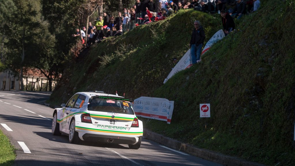 Alberto Marchetti / Mario Scalmani, ŠKODA FABIA R5, Alberto Marchetti. Tour de Corse 2017