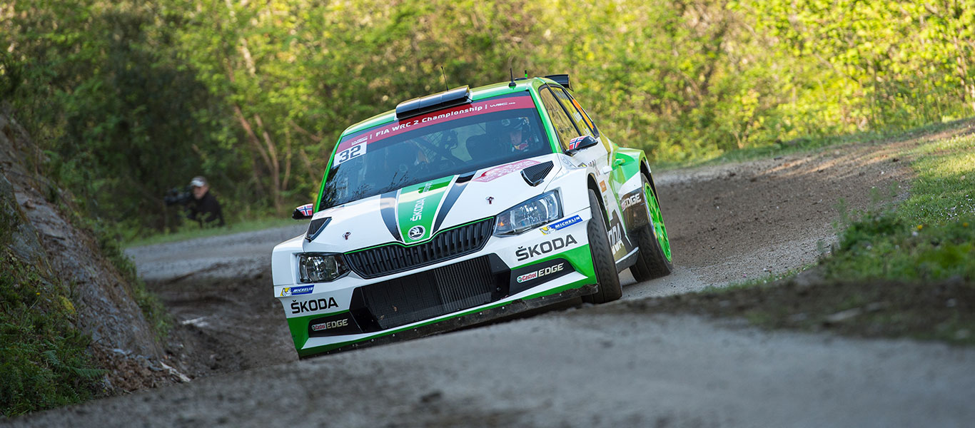PHOTO: ŠKODA Motorsport at the 2017 Tour de Corse