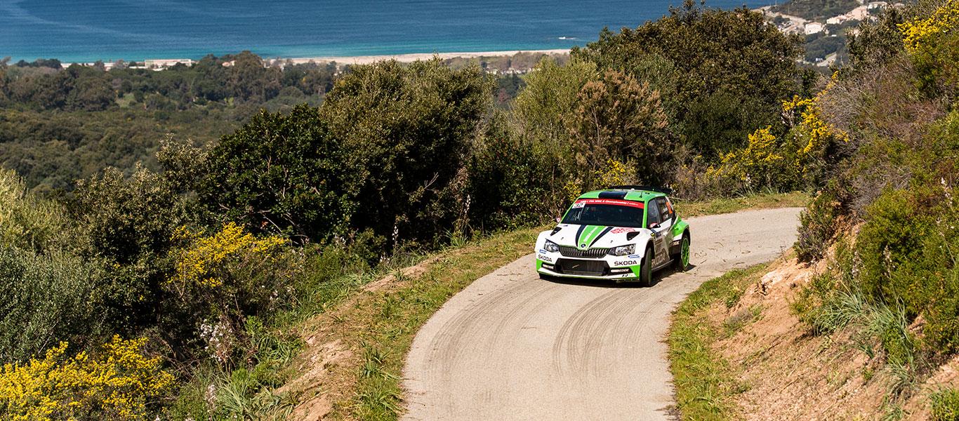 WRC Tour de Corse: Andreas Mikkelsen with a convincing lead
