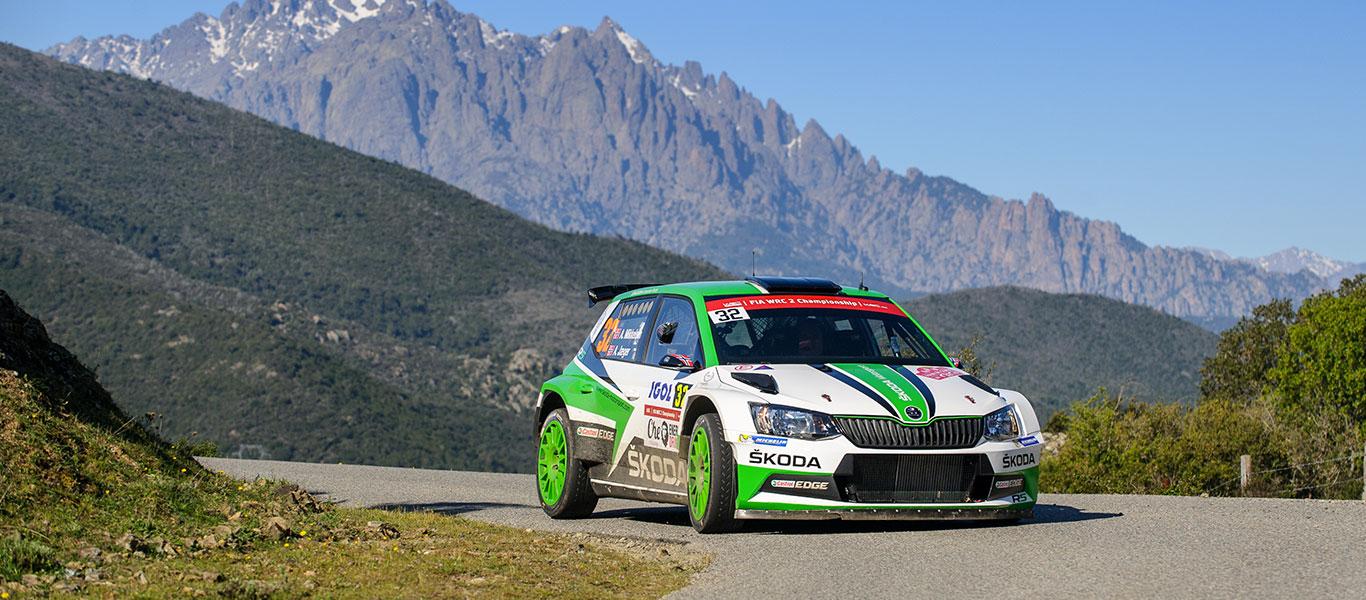 WRC Tour de Corse: Andreas Mikkelsen remains the man to beat