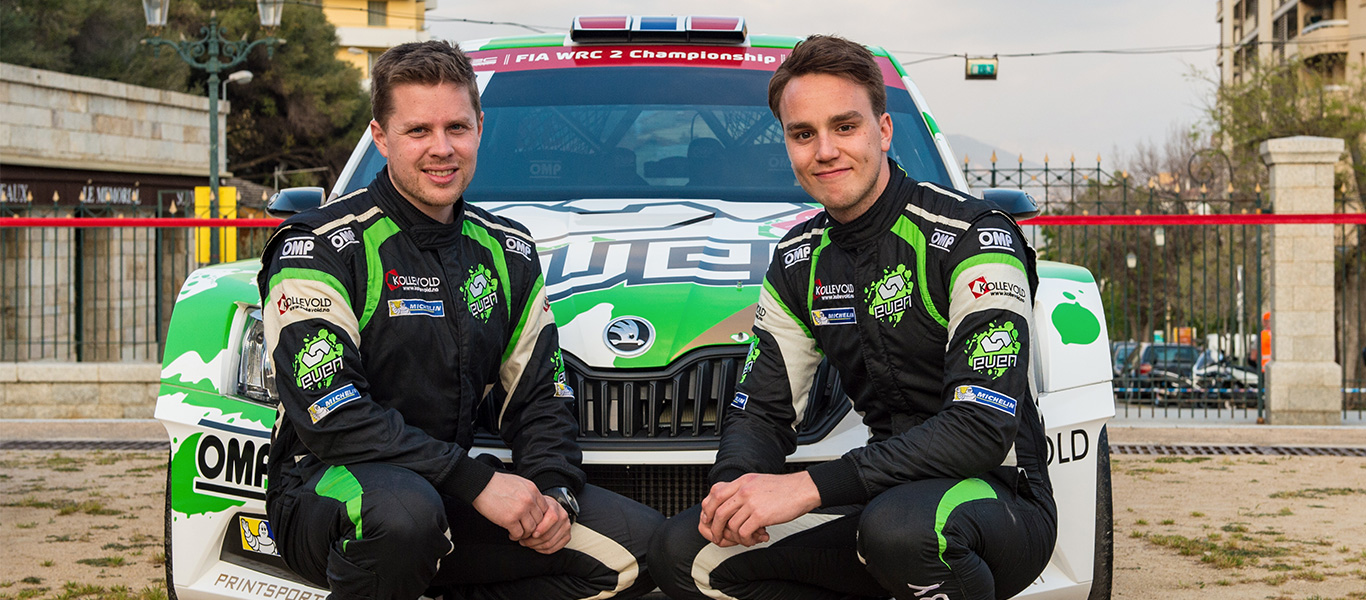 ŠKODA enters 2017 FIA APRC with Gill and Veiby