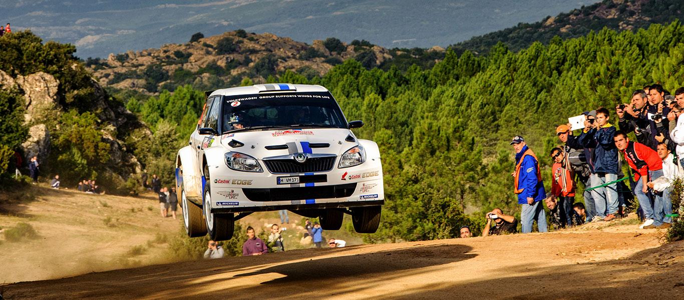 Z archivu: Na Italské rally 2012 psala ŠKODA FABIA S2000 historii