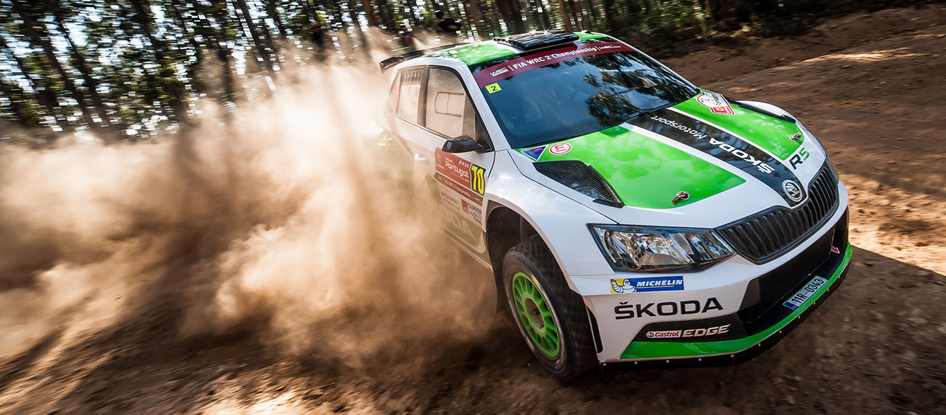 From the Archives: It all started at the 2015 Rally de Portugal for the ŠKODA FABIA R5