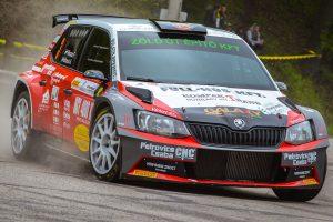 Ferenc Vincze jr. / Attila Bazsó, ŠKODA FABIA R5, S-Motorsport SE. Ózd Rallye 2017