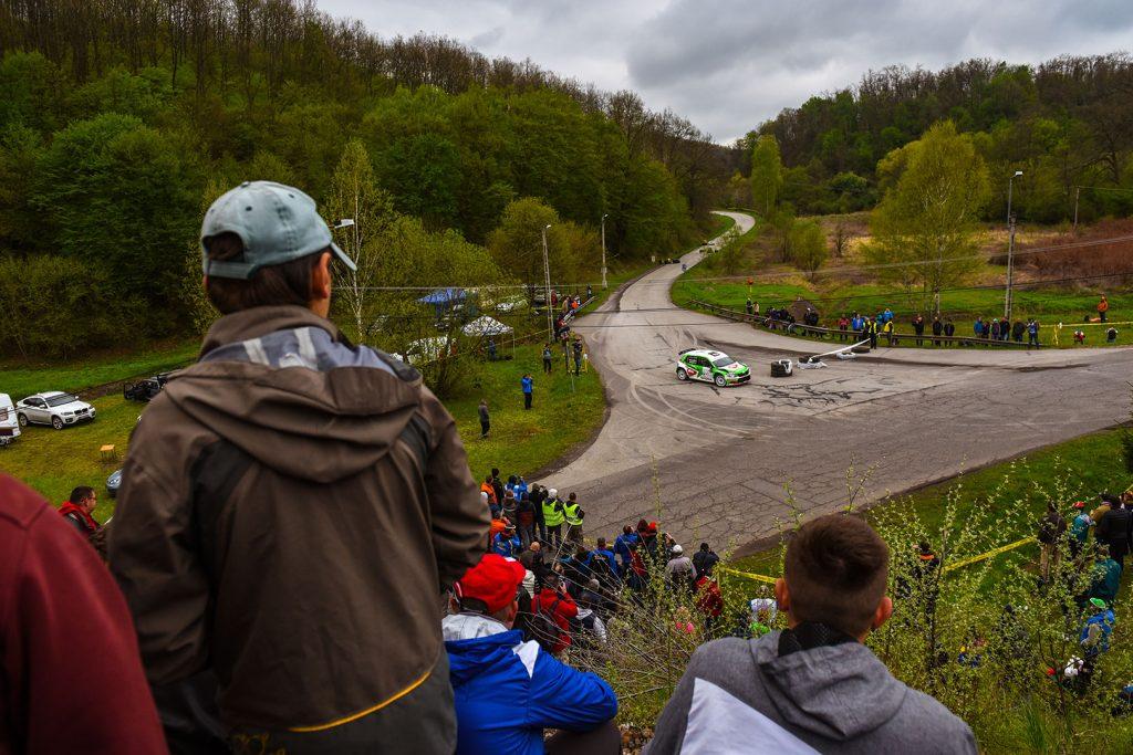Norbert Herczig / Igor Bacigál, ŠKODA FABIA R5, Škoda Rally Team Hungaria. Ózd Rallye 2017