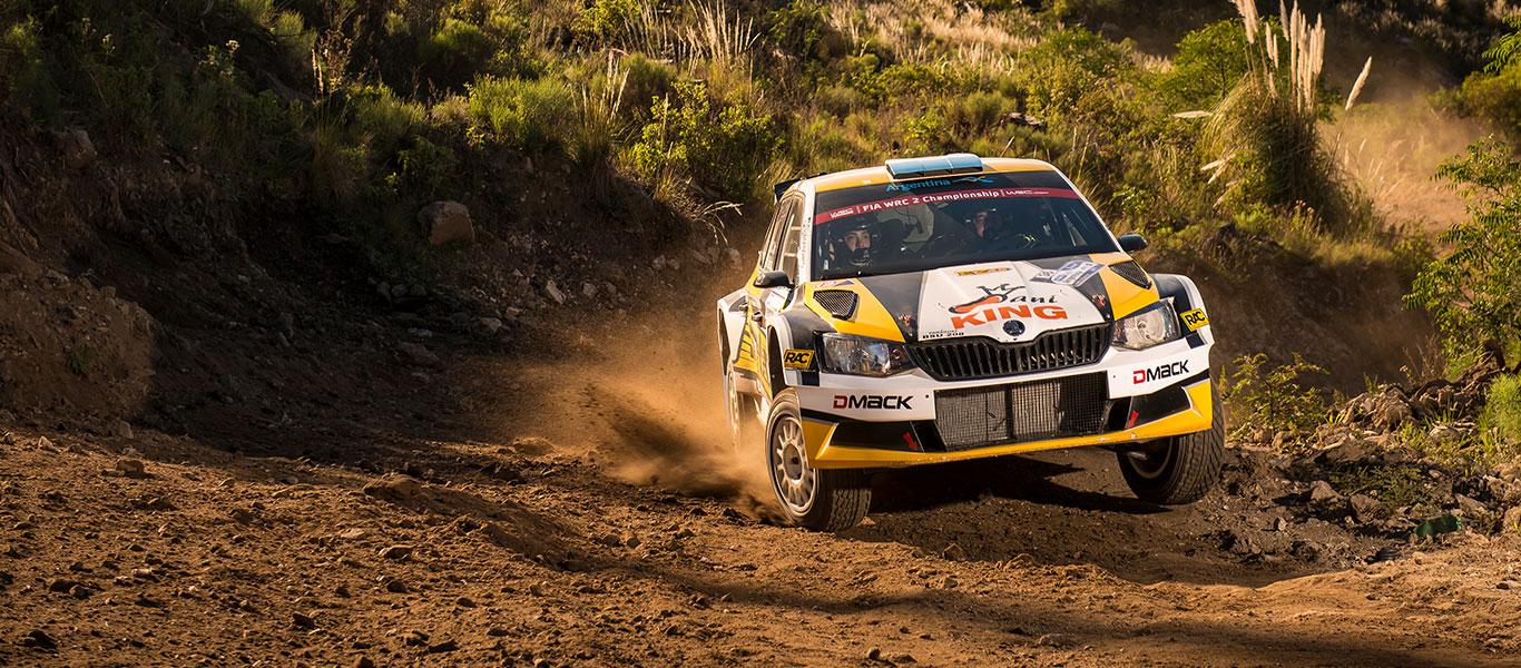 WRC Argentina: FABIA R5s fill the podium as ŠKODA scores heavily in Córdoba