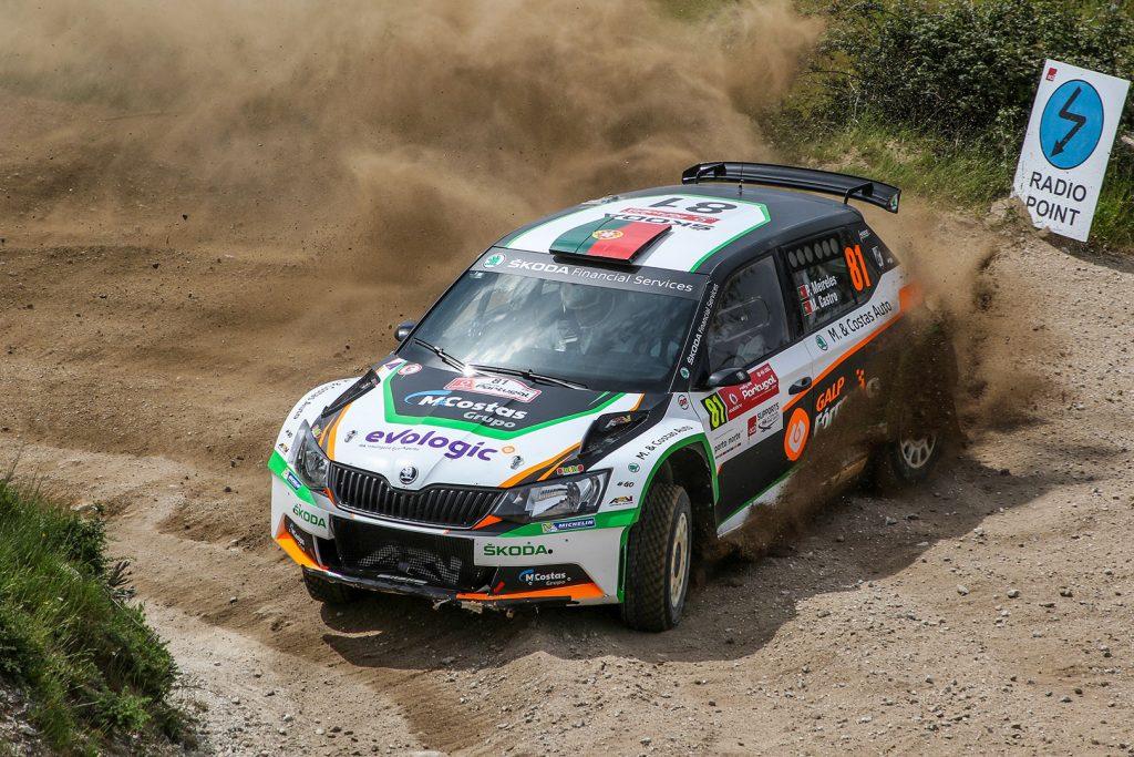 Pedro Meireles / Mário Castro, ŠKODA FABIA R5, Pedro Meireles. Rally de Portugal 2017