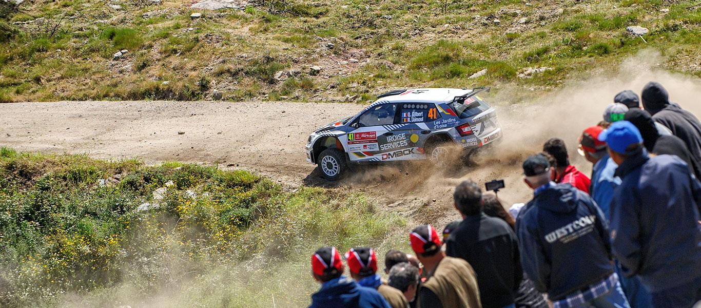 PHOTO: ŠKODA Customer Teams at the 2017 Rally de Portugal