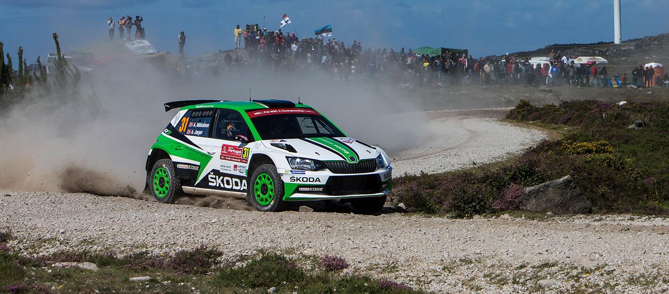 FOTO: ŠKODA Motorsport na Portugalské rally 2017