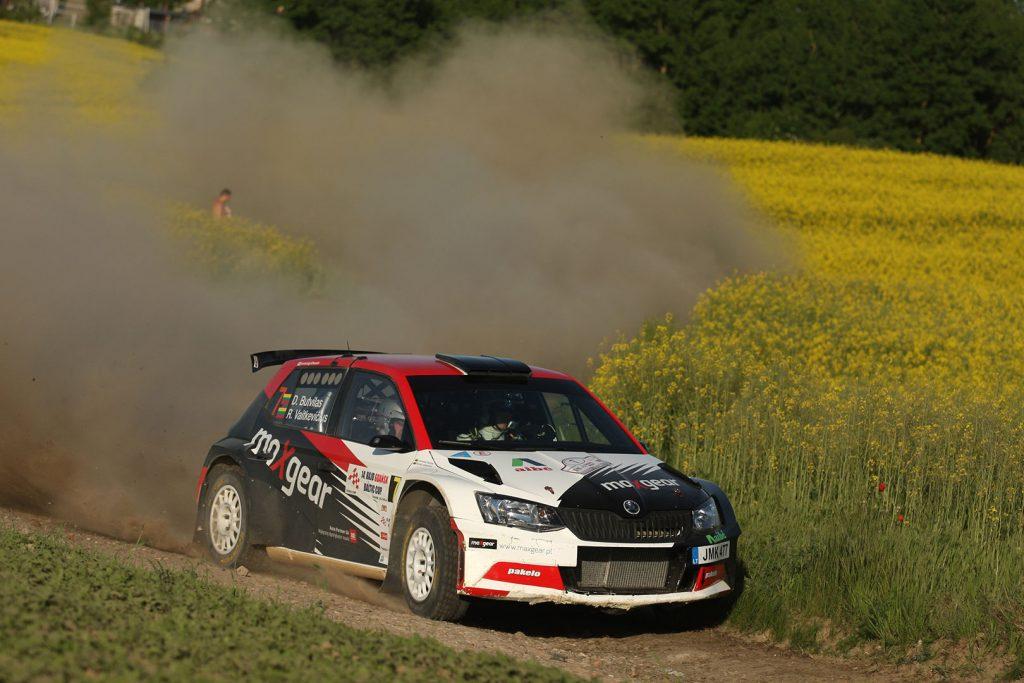 Dominykas Butvilas / Renatas Vaitkevičius, ŠKODA FABIA R5, Auto Partner Rally Team. Rajd Gdańsk Baltic Cup 2017