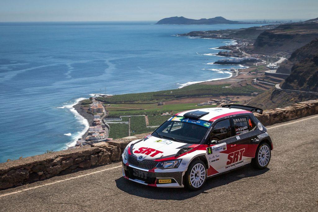Nikolay Gryazin / Yaroslav Fedorov, ŠKODA FABIA R5, Sports Racing Technologies. Rally Islas Canarias 2017