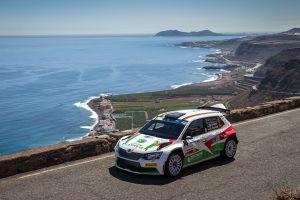 Marijan Griebel / Stefan Kopczyk, ŠKODA FABIA R5, Marijan Griebel. Rally Islas Canarias 2017