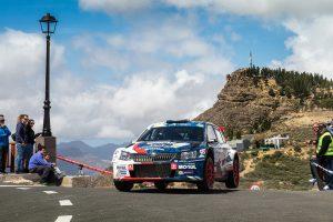 Jan Černý / Petr Černohorský jun., ŠKODA FABIA R5, ACCR Czech Team. Rally Islas Canarias 2017
