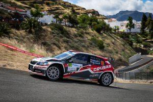 Grzegorz Grzyb / Przemyslaw Zawada, ŠKODA FABIA R5, Rufa Sport. Rally Islas Canarias 2017