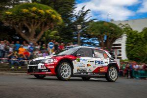 Antonín Tlusťák / Ivo Vybíral, ŠKODA FABIA R5, Botka - Tlustak Racing. Rally Islas Canarias 2017