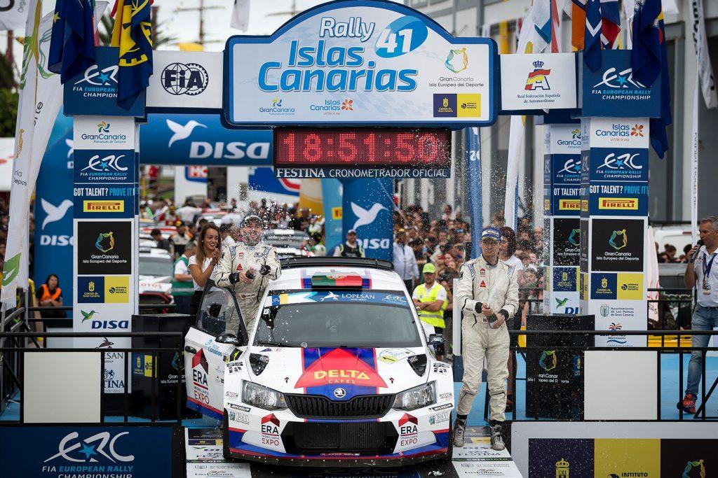 Bruno Magalhães / Hugo Magalhães, ŠKODA FABIA R5, Bruno Magalhães. Rally Islas Canarias 2017