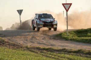 Nikolay Gryazin / Yaroslav Fedorov, ŠKODA FABIA R5, Sports Racing Technologies. Rally Talsi - Rally of Champions 2017