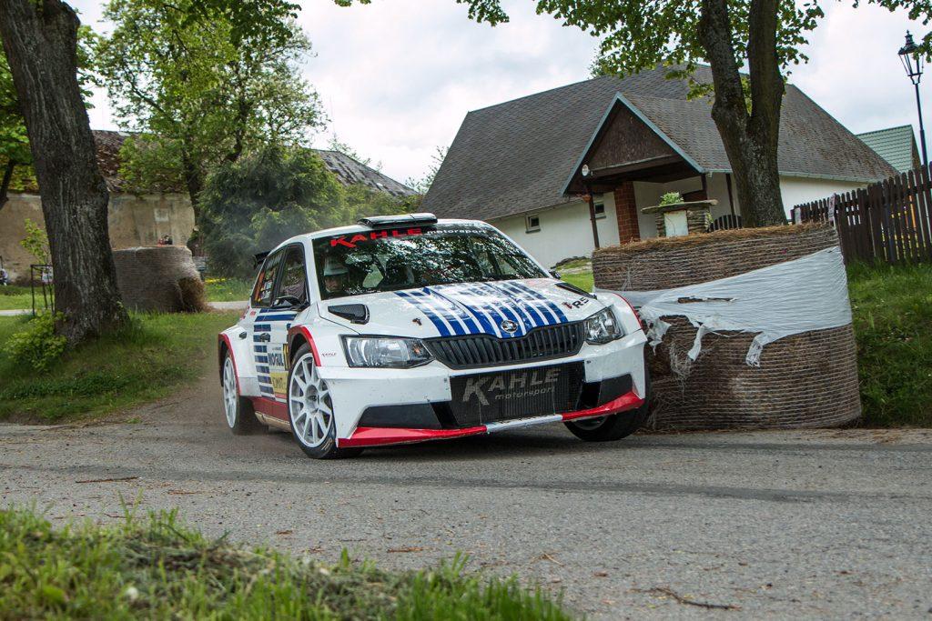 Matthias Kahle / Christian Doerr, ŠKODA FABIA R5, Matthias Kahle. Rallye Český Krumlov 2017