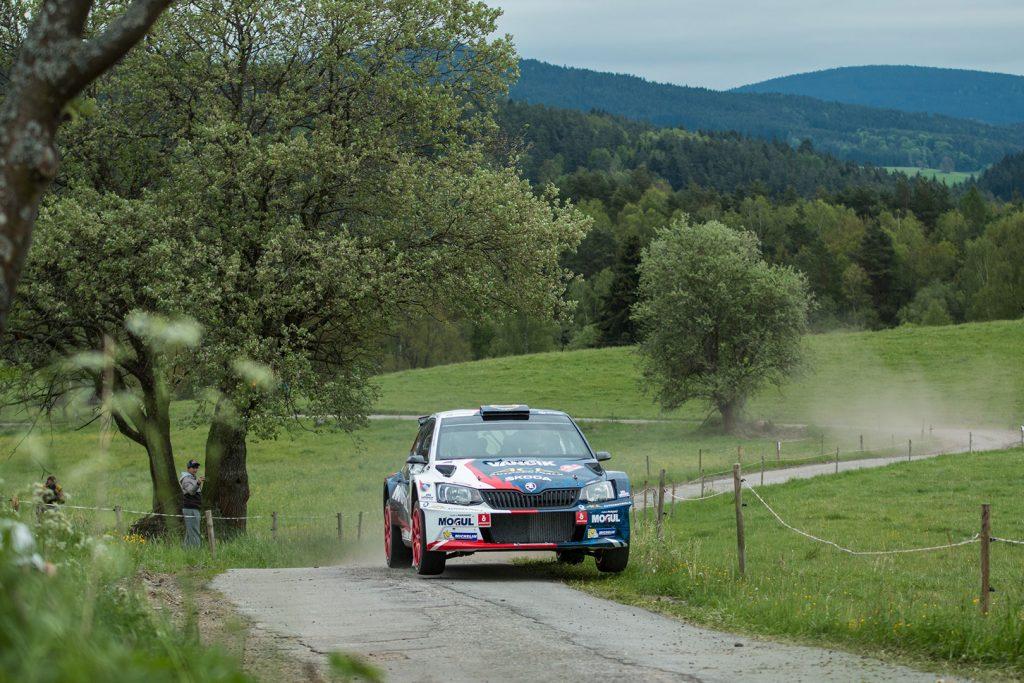 Jan Černý / Petr Černohorský jun., ŠKODA FABIA R5, Mogul Škoda ACA Racing. Rallye Český Krumlov 2017