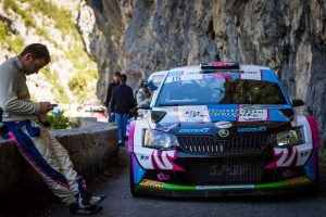 Anthony Puppo / Jérémy Cenci, ŠKODA FABIA R5, Anthony Puppo. Rallye d'Antibes - Côte d'Azur 2017