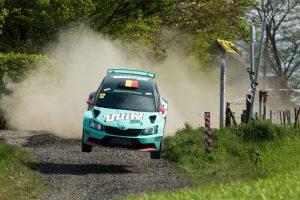 Ghislain de Mevius / Johan Jalet, ŠKODA FABIA R5, Ghislain de Mevius. Rallye de Wallonie 2017 (Photo: BRC Media)Foto