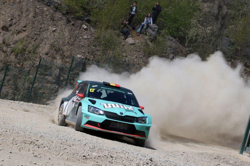 Ghislain de Mevius / Johan Jalet, ŠKODA FABIA R5, Ghislain de Mevius. Rallye de Wallonie 2017 (Foto: BRC Media)