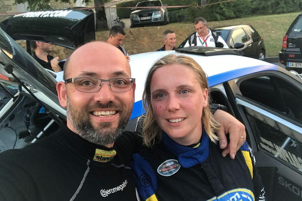 Jérôme Galpin / Anne Galpin, ŠKODA FABIA R5, Team FJ. Rallye National du Saint-Emilion 2017