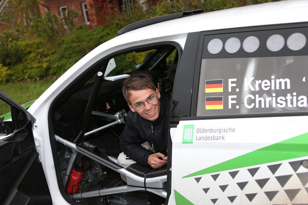 Fabian Kreim / Frank Christian, ŠKODA FABIA R5, Škoda Auto Deutschland. Rallye Sulingen 2017