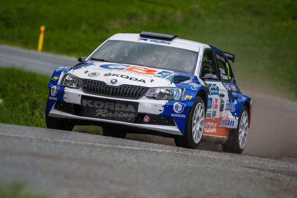 Martin Koči / Filip Schovánek, ŠKODA FABIA R5, Styllex motorsport. Rallye Tatry 2017