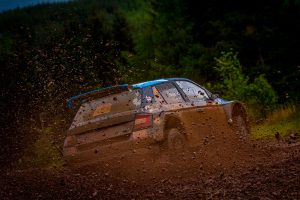 David Bogie / Kevin Rae, ŠKODA FABIA R5, CA1 Sport. Scottish Rally 2017